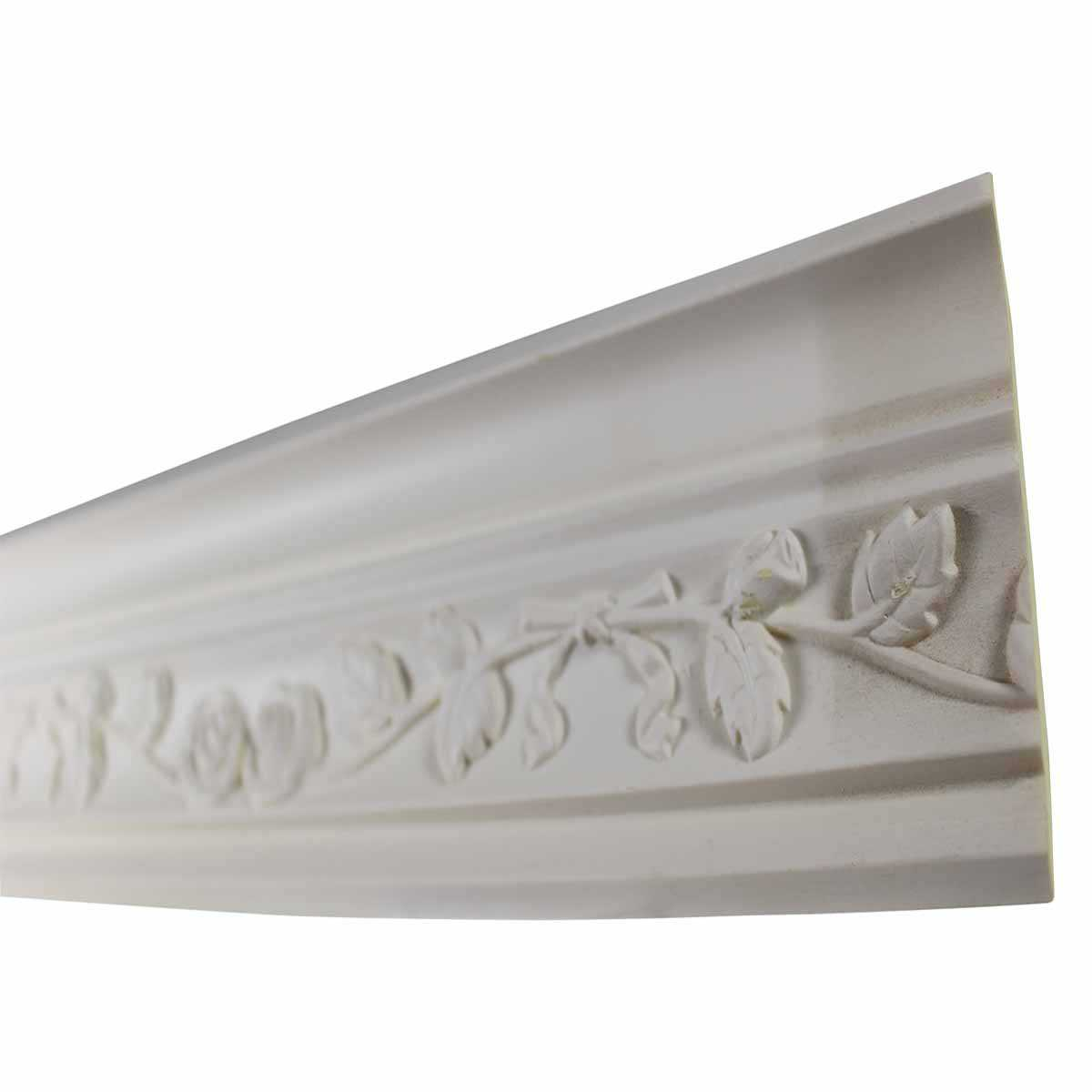 Cornice White Urethane Sample of 11187 23.5' Long | Renovator's Supply