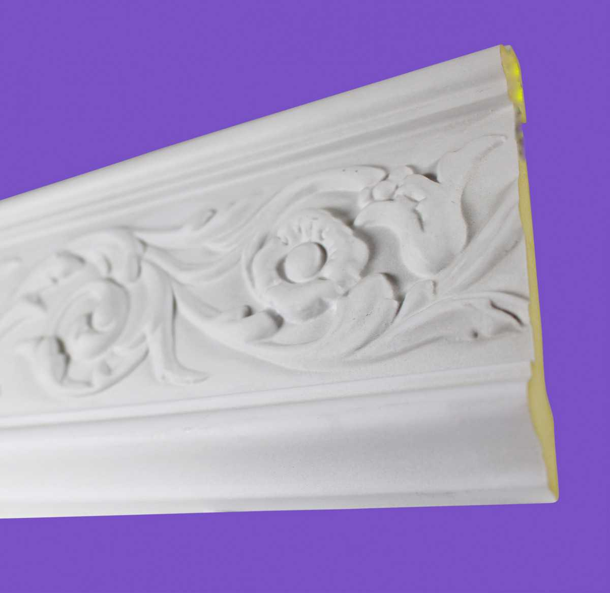 Cornice White Urethane Sample of 18872 19.75' Long | Renovator's Supply