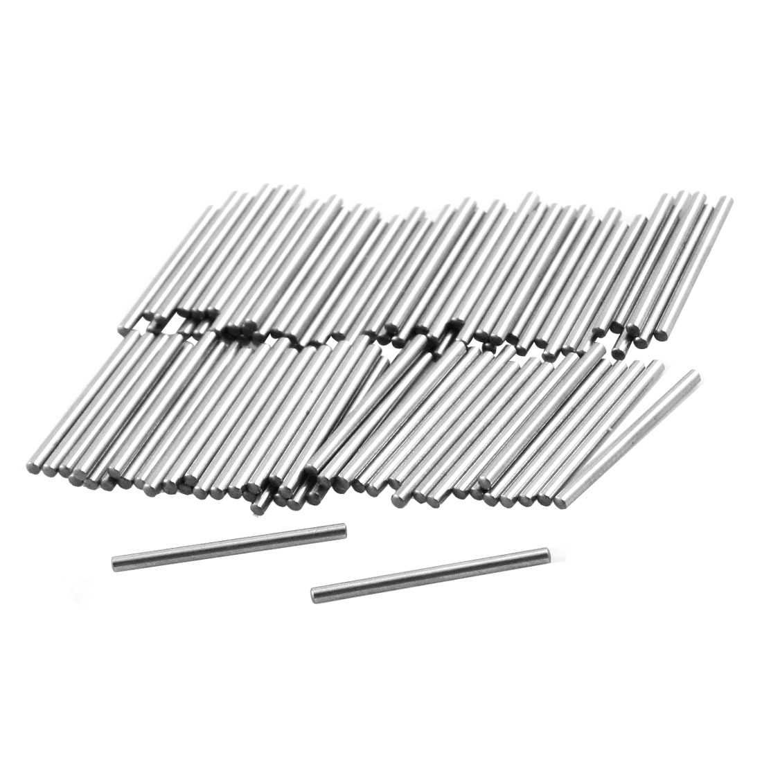 Unique Bargains 100 Pcs 1.1mm x 15.8mm Parallel Dowel Pins Fasten Elements