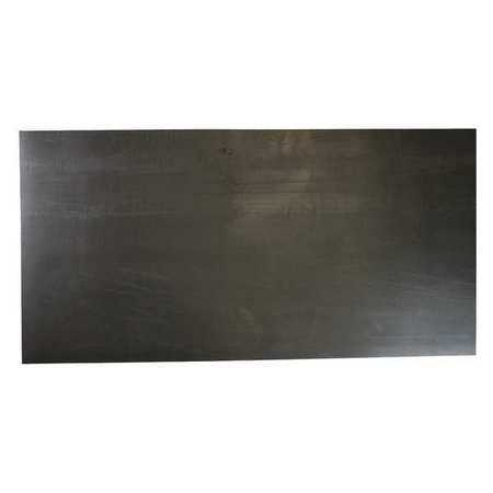 E. JAMES 1/64' Military Spec. Buna-N Rubber Sheet, 12'x36', Black, 70A, 3065DSBF2164B7D