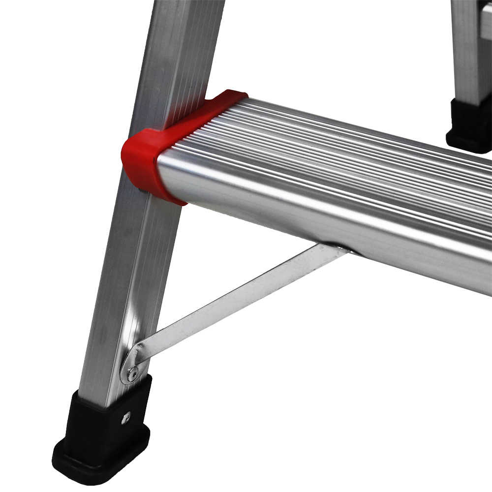 2-Step Folding Ladder Aluminum 33' Non-slip Platform Lightweight Stool 230Lbs