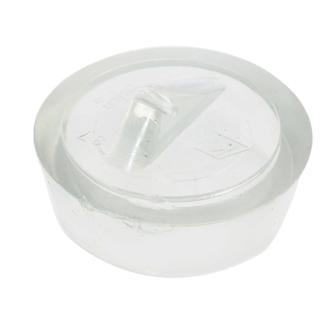 Unique Bargains Replacement Triangular Grip Clear Sink Disposal Stopper Plug 41mm Dia
