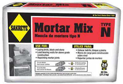 10 LB Sakrete Mortar Mix A Quality Mixture Of Sand & Cement 2PK