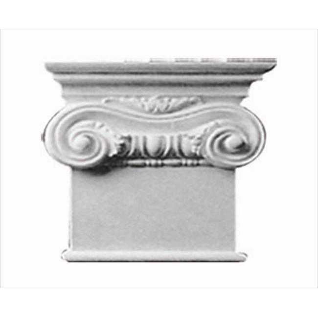American Pro Decor 5APD10281 9.75 x 8.25 in. Right Sided Capital