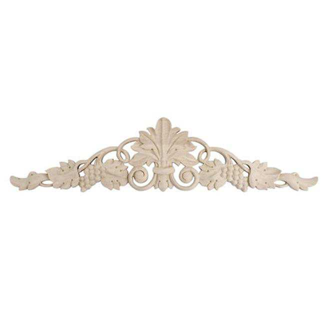 American Pro Decor 5APD10397 Small Carved Wood Applique