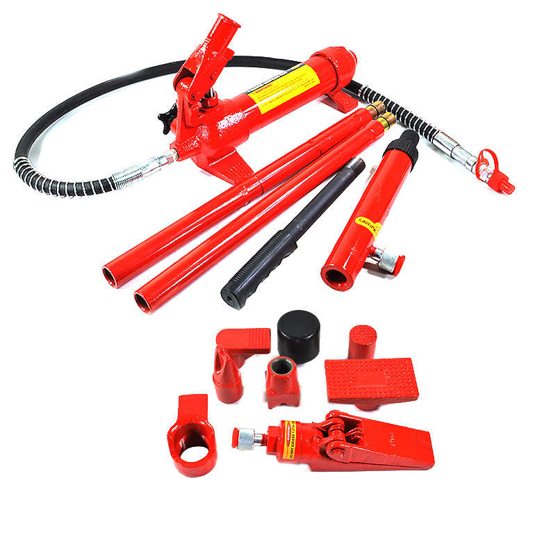 Arksen Hydraulic 4 Ton Body Frame Repair Kit with Case