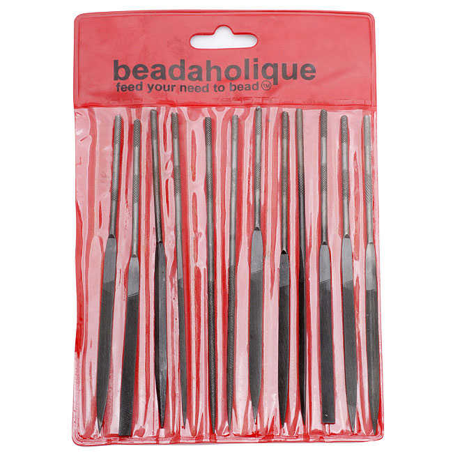 Needle Files - Set Of 12 - For Wire Work and Wrapping