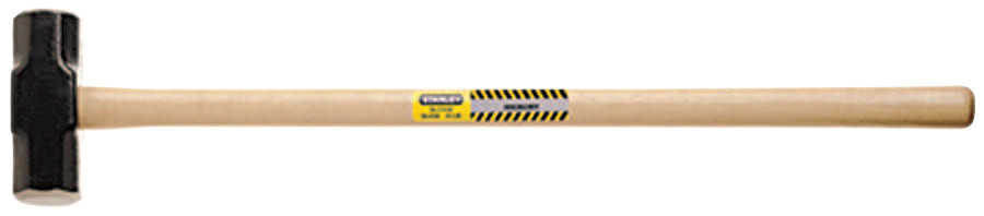 Stanley Hickory Handle Sledge Hammers, 12 lb, Hickory Handle