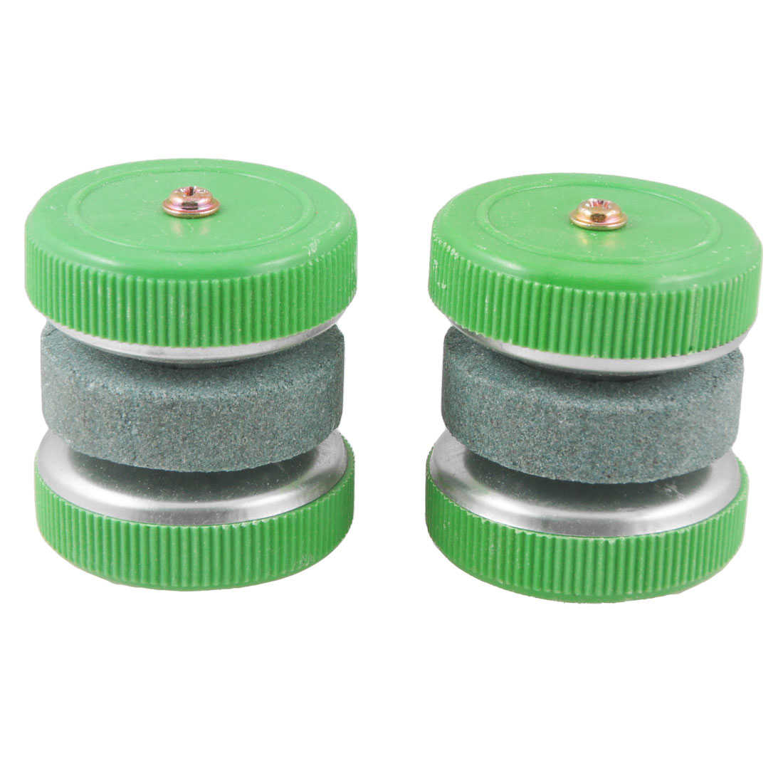 Unique Bargains Kitchen Chopper Sharpening Grit Lapped Abrader Whetstone Abrader x 2