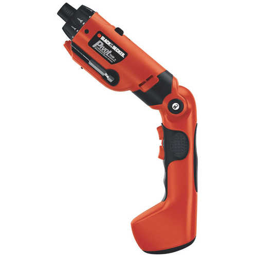 BLACK+DECKER PD600 6V PivotPlus Rechargeable Drill-Screwdriver