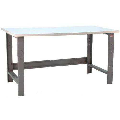 BENCHPRO RE2460 + GSN Ergo Workbench, Gray, 60Lx24Wx30H In.