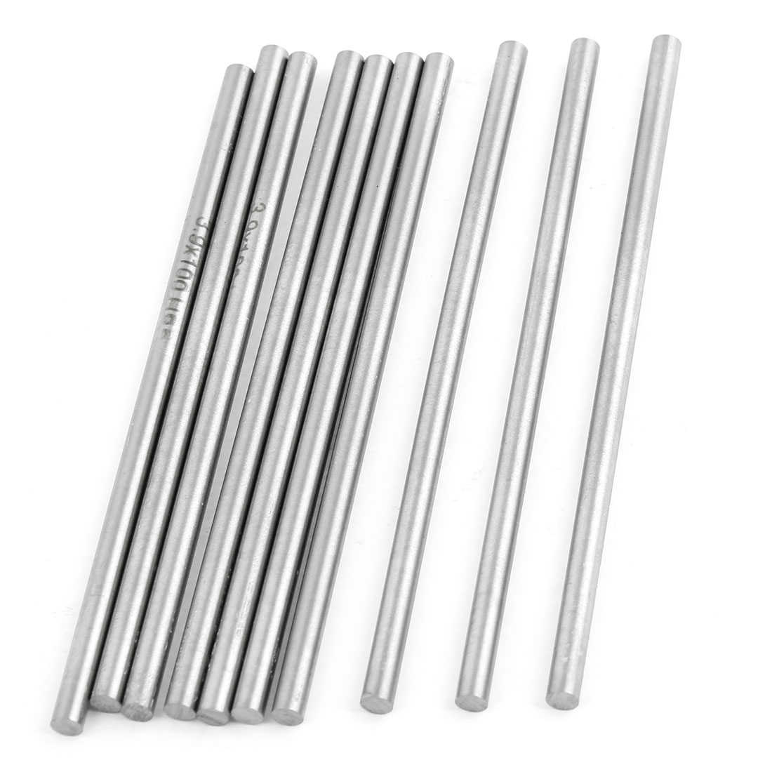 Unique Bargains 10 x High Speed Steel Round Turning Lathe Carbide Bars 3.9mm Dia 100mm Long