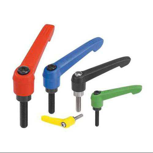 KIPP 06610-31084X25 Adjustable Handles,0.99,M10,Red