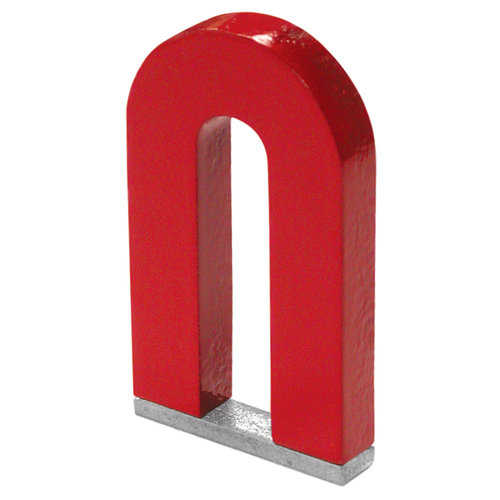 Master Magnetics 07225 2' Horseshoe Tall Magnet with Keeper