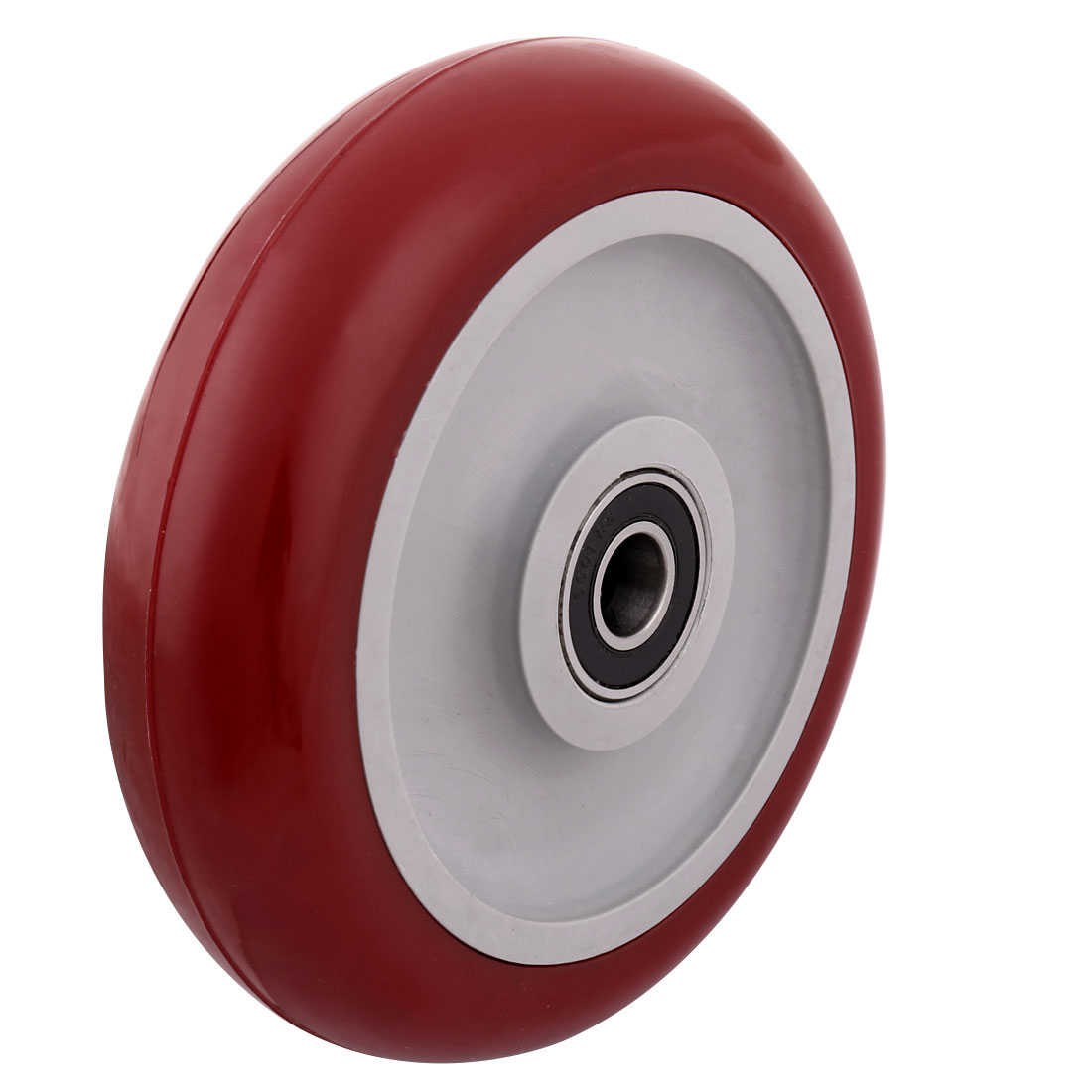 Household Market Shopping Cart Pallet Hand Trolley Replacement Casters Wheel Red