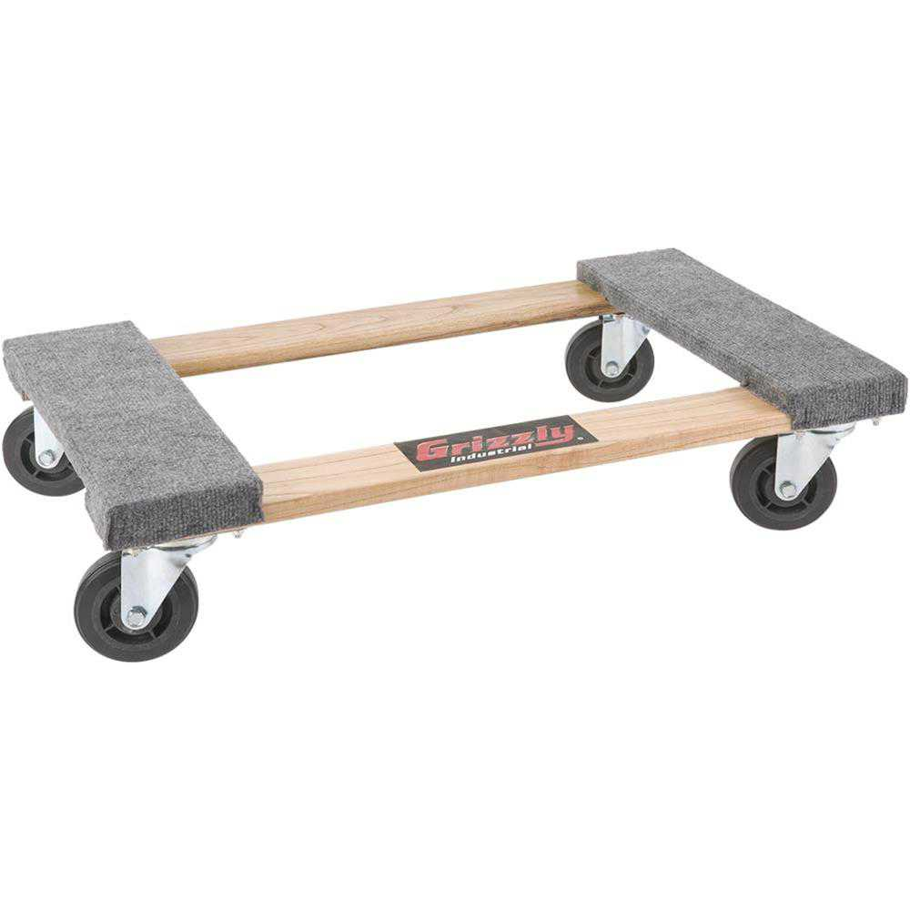 Grizzly G7109 Furniture Dolly 660 lb. Capacity