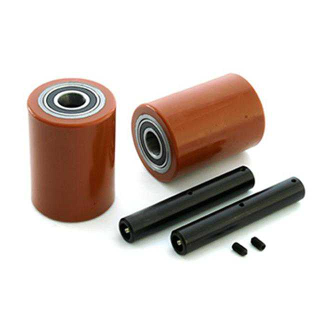 Raymond GWK-102XM-LW 102XM Walkie Pallet Truck Load Wheel Kit for Electric Pallet Truck - Butterscotch