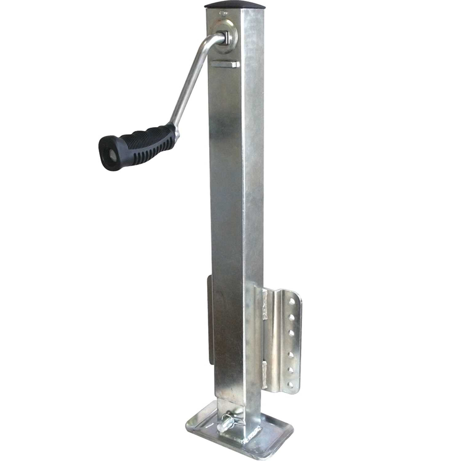 Unified Marine SeaSense 2500LB Zinc Square Tube Trailer Jack