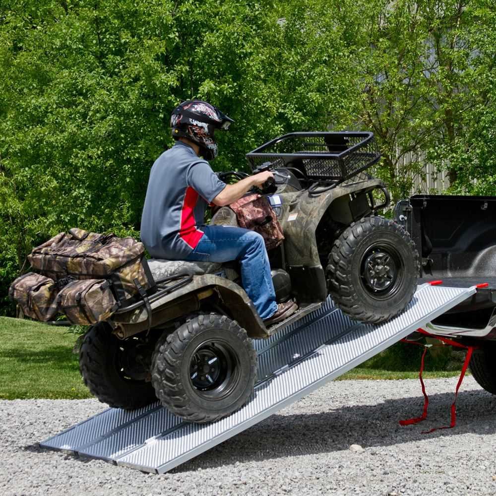 94' x 54' Solid Surface Tri-Fold ATV Pickup Truck Ramp