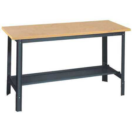 EDSAL UB400 Workbench,48Wx24Dx29 to 34 in. H