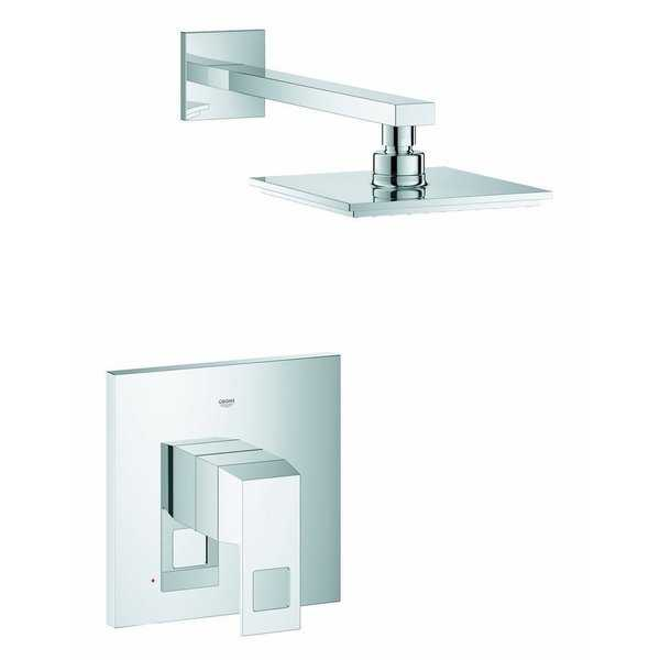 Grohe Eurocube Starlight Chrome Shower Faucet