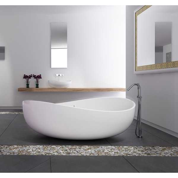 Newport 71 Solid Surface Freestanding Bathtub