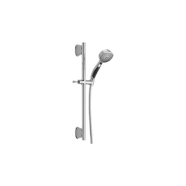 Delta 51549 Universal ActiveTouch Slide Bar with Multi Function Handshower and Hose - Less Wall Supply - N/A