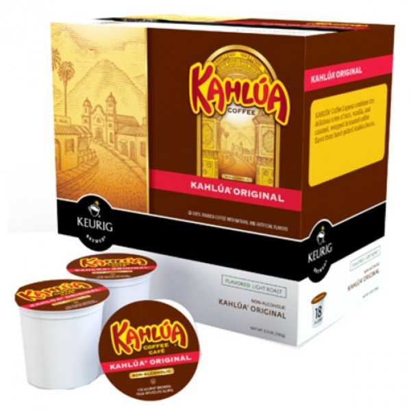 Kerurig 01800 Timothy's Kahlua Original Coffee K-Cup, 18-Count