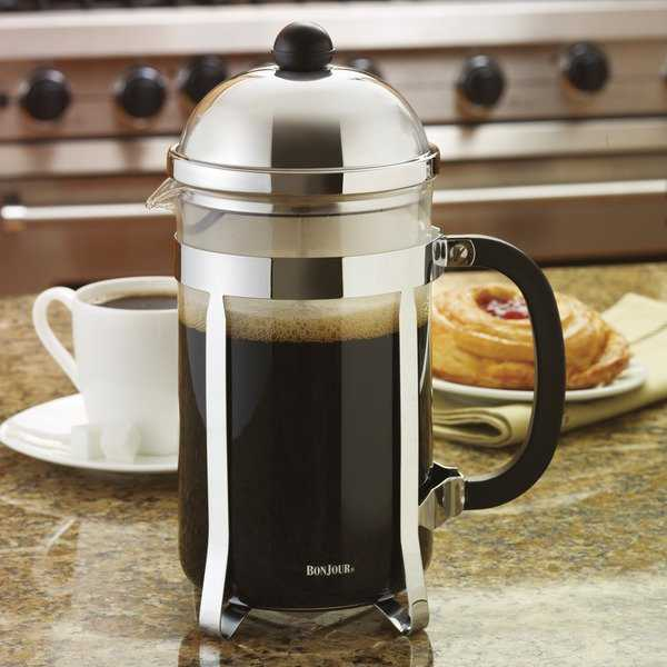 BonJour Coffee and Tea 12-cup Monet French Press